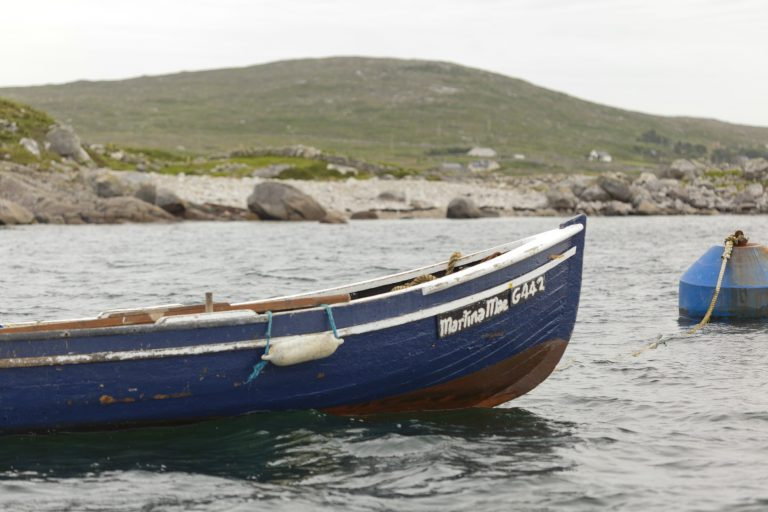 irish organic salmon fishing boat connemara