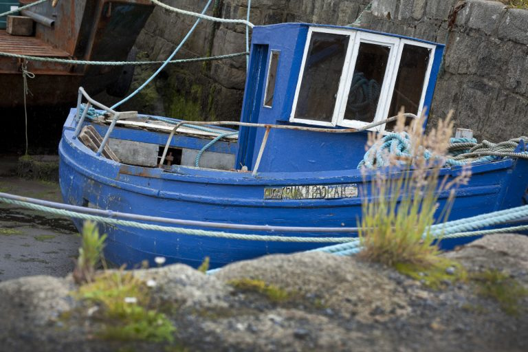 fishing boat, connemara, ISPG