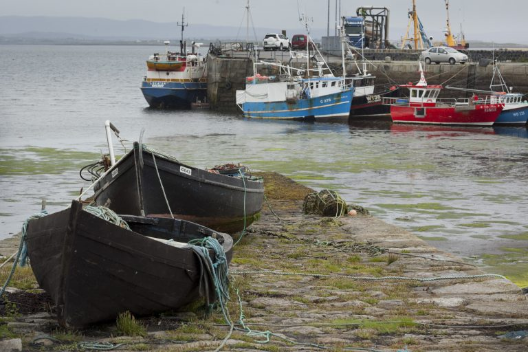 irish salmon fishing boats galway